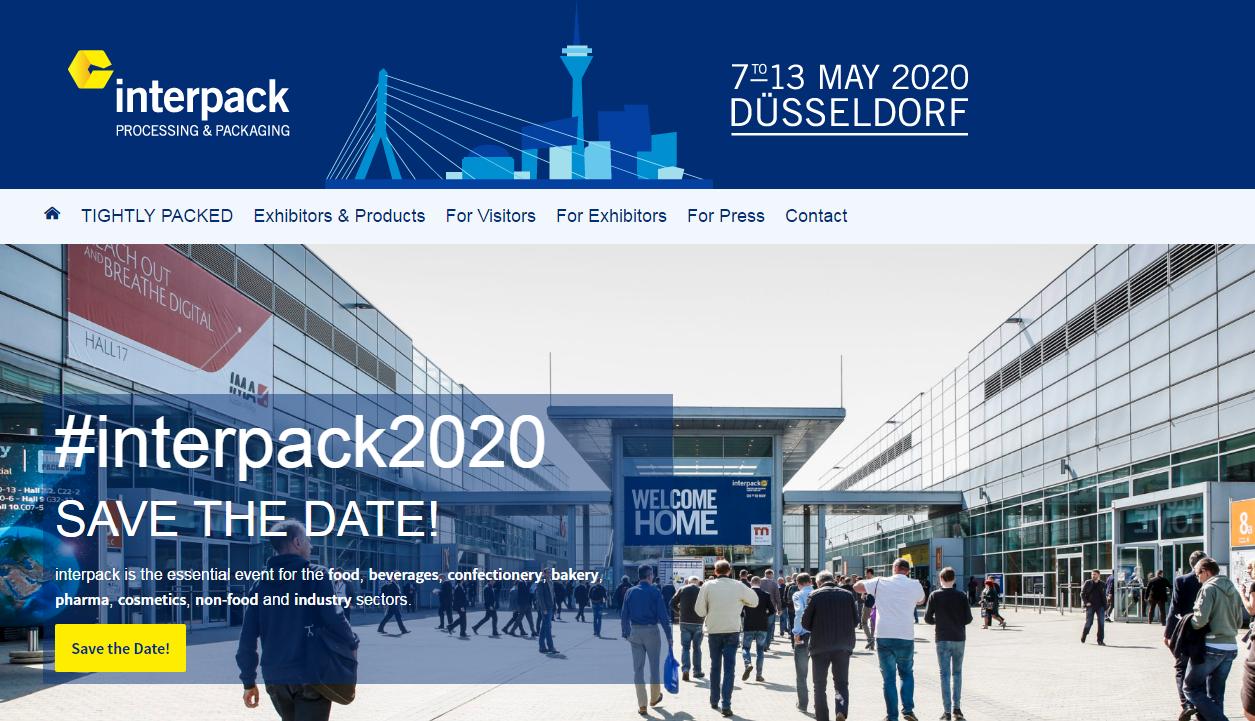Nemška razstava Interpack 2020