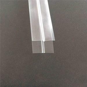 Prozorna plastična vrečka zadrga